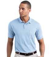 STEDMAN BY HANES 50/50 SPORTSHIRT W/ POCKET 5.5OZ.