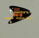 HIGH SCHOOL SENIORS PERSONALIZED SLOGAN t-shirt design idea