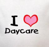 I LOVE DAYCARE t-shirt design idea