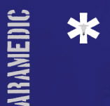 PARAMEDIC BLUE t-shirt design idea