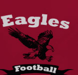 EAGLES TEAM FOOTBALL t-shirt design idea