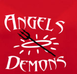 ANGELS AND DEMONS t-shirt design idea