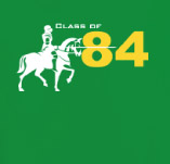 KNIGHTS REUNION CLASS OF '84 t-shirt design idea