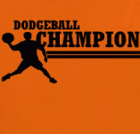 DODGEBALL CHAMP t-shirt design idea