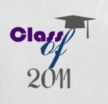 CLASSY SENIOR-CLASS OF 2011 t-shirt design idea