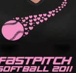 FASTPITCH t-shirt design idea
