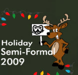 HOLIDAY SEMI-FORMAL t-shirt design idea