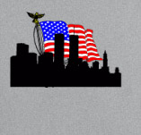 NEVER FORGET SEPTEMBER 11TH t-shirt design idea