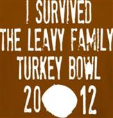 FAMILY TURKEY BOWL t-shirt design idea