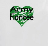 ARMY FIANCEE t-shirt design idea