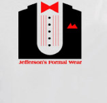 JEFFERSON'S FORMAL WEAR t-shirt design idea