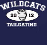 WILDCATS TAILGATING t-shirt design idea