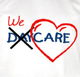WE CARE t-shirt design idea