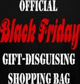 OFFICIAL BLACK FRIDAY SHOPPING BAG t-shirt design idea