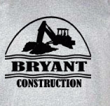 BRYANT CONSTRUCTION t-shirt design idea