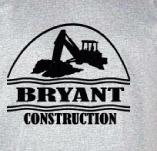 BRYANT CONSTRUCTION t-shirt design idea