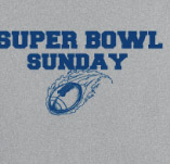 SUPER BOWL SUNDAY t-shirt design idea