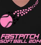 FASTPITCH t-shirt design idea