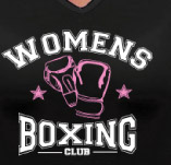 WOMENS BOXING t-shirt design idea