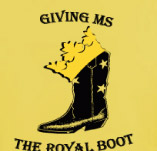 GIVING MS THE BOOT t-shirt design idea