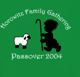 PASSOVER FAMILY GATHERING t-shirt design idea