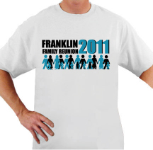 FRANKLIN FAMILY t-shirt design idea