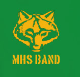 HIGH SCHOOL BAND WOLVES t-shirt design idea