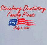 STEINBERG 4TH OF JULY FAMILY PICNIC t-shirt design idea