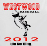 WEST WOOD BASEBALL PITCHER t-shirt design idea