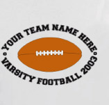 FOOTBALL VARISTY TEAM t-shirt design idea