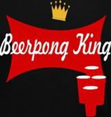 BEERPONG KING t-shirt design idea