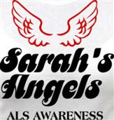 SARAH'S ANGELS t-shirt design idea