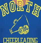 NORTH CHEERLEADING t-shirt design idea