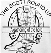 SCOTT ROUND UP t-shirt design idea