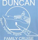 DUNCAN CRUISE t-shirt design idea