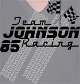 JOHNSON RACING t-shirt design idea