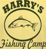 HARRYS FISHING CAMP t-shirt design idea