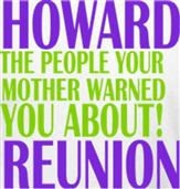 HOWARD REUNION 1 t-shirt design idea