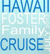 FOSTER CRUISE t-shirt design idea