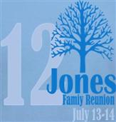 JONES REUNION t-shirt design idea