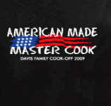 AMERICAN MADE MASTER COOK t-shirt design idea