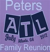 PETERS REUNION t-shirt design idea