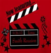 SMITH MOVIE REUNION t-shirt design idea
