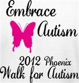 EMBRACE AUTISM t-shirt design idea