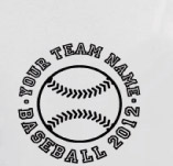 YOUR BASEBALL OR SOFTBALL TEAM SHIRTS t-shirt design idea