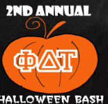 GREEK HALLOWEEN BASH t-shirt design idea