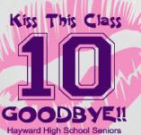 KISS THIS CLASS GOODBYE t-shirt design idea