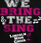 BRING THE SING t-shirt design idea