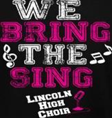 BRING THE SING t-shirt design idea