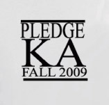 PLEDGE KAPPA ALPHA t-shirt design idea